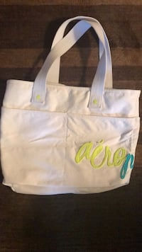 Aeropostale Canvas Tote/Beach Bag Sterling, 20165