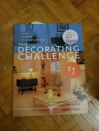 Decorating challenge book