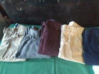 5 pair of boys pants size 10