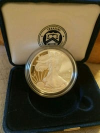 2011 West Point American Silver Eagle Proof with Box! Belmont, 28012