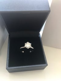 1.2 carat Moissanite engagement ring Spruce Grove, T7X