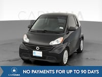 2014 smart fortwo coupe Passion Hatchback Coupe 2D Black