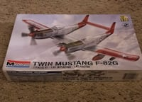 Revell Twin Mustang F-82G Model Kit - Unopened  Norman, 73072