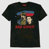 NEW: Stranger Things MENS LARGE Dad Goals Black ts Edmonton, T6X 1J9
