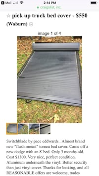 Pace edwards pick up truck bed cover Winchester