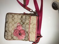 Pink Coach purse Mississauga