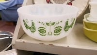 white and green ceramic bowl Harford County, 21085