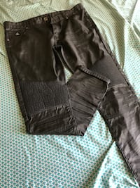 Size 36 leather jeans  Baltimore, 21230