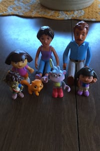 Dora an family characters