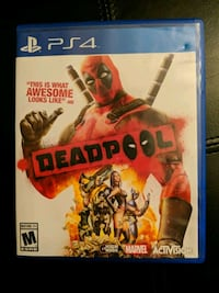 Deadpool PS4 Game Brookeville, 20833