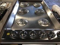 """VGSU53616BSS VIKING 36"""" PROFESSIONAL 5 SERIES NATURAL GAS COOKTOP WITH 6 BURNERS AND SURESPARK IGNITION SYSTEM - STAINLESS STEEL Sugar Land, 77498"""