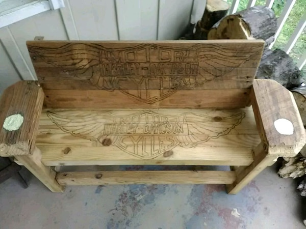 Surprising Lawn Bench For Yard Man Cave Or Porch Uwap Interior Chair Design Uwaporg