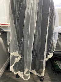 WEDDING VEIL- NEVER USED!