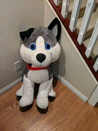 Brand new Plush toy (pretty looking Husky)- size extra large..