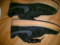 Nike Air Force 1 black and gum Ottawa, K1Y 2N6