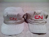 $55 - 2x CN Rail locomotive conductor hats Ottawa, K1G