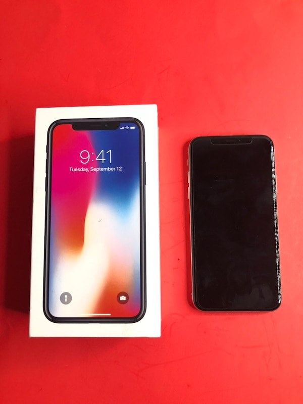 Used iPhone X 64GB Only For xfinity mobile carrier (PAID OFF