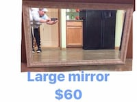 brown wooden cabinet with mirror Niskayuna, 12309