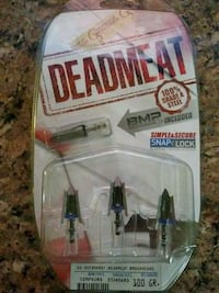 BRAND NEW DEADMEAT BROADHEADS Elkhart, 46514