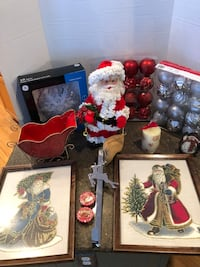 Large Lot of Christmas Decorations 48 km