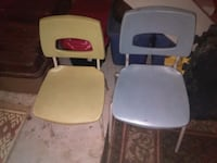 2 school house chairs North Bay, P1B 7S8