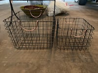 New stylish metal baskets for sale Mc Lean, 22101