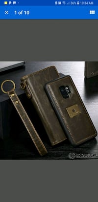 Samsung Galaxy note 8 Removable Leather Wallet Ma Centreville, 20121