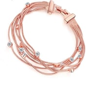 New rose gold bracelet