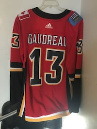 Johnny hockey flames jersey