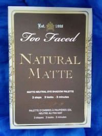 Too Faced Natural Matte Eyeshadow Palette Parkland, 98444
