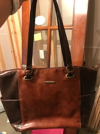 brown leather tote bag screenshot Shelby, 44875