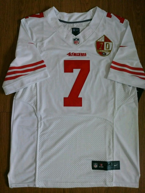 official photos 307e3 b6f49 MENS COLIN KAEPERNICK 49ERS JERSEY L