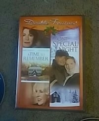 Double Feature A Time To Remember and One Special Night DVD case 1808 mi
