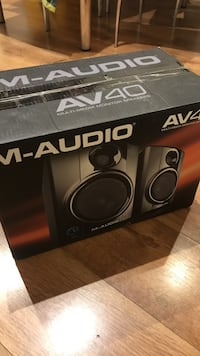 Altavoces M-Audio AV40 perfecto estado
