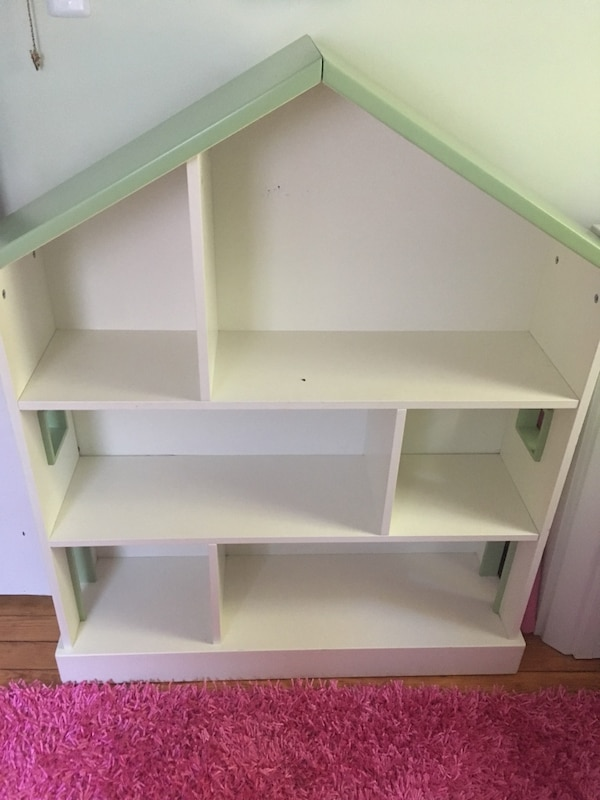 Used Pottery Barn Kids Dollhouse Bookcase Rare Euc For Sale In