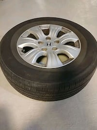 4 all season tires with rims for Honda - Odyssey  Milton, L9T 7S2