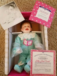 My First Tooth Little Patricia Doll Goodyear, 85338