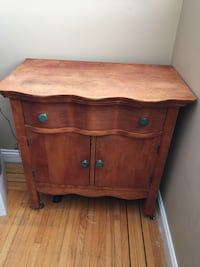 Must sell! Rare find!!! Antique wood sideboard. 29x17x29 North Vancouver, V7R 4H8