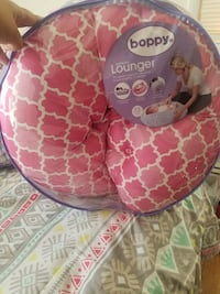 Newborn boppy louger. This is NOT a boppy pillow.