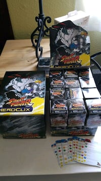 Street fighter heroclix booster boxes