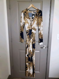Brand New- Navy/Gold Jumpsuit.1X. Frederick