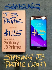 $125FIRM SAMSUNG J3 PRIME A+condition+box+charger Pointe-Claire, H9R 1N9