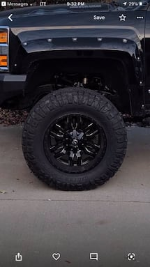 Nearly New NITTO Ridge Grappler Tires