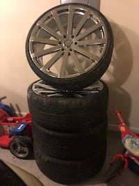 "Used 24"" Velocity Rims/Tires (Negotiable) Lake Charles, 70611"