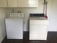 white washer and dryer set 35 km