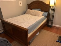 Mahogany Queen Bed Frame