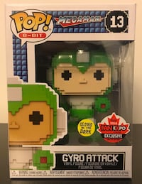 Gyro Attack Fan Expo Exclusive Funko Pop Toronto, M2J