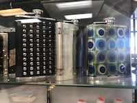 Lucienne flasks all sizes and colors same price.  Las Vegas, 89146