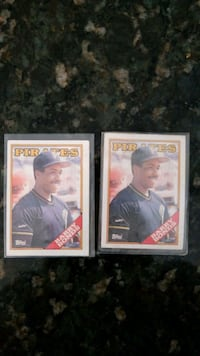 (2) Barry Bonds Topps #450 Discovery Bay, 94505