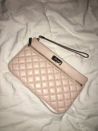 Blush leather authentic Michael Kors clutch